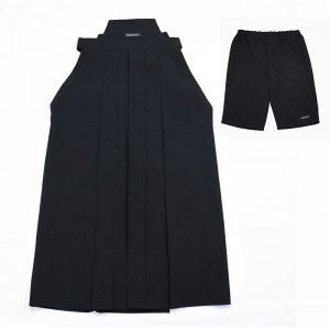 pleatsHAKAMA‐Pants-bk